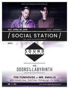 Social Station flyer